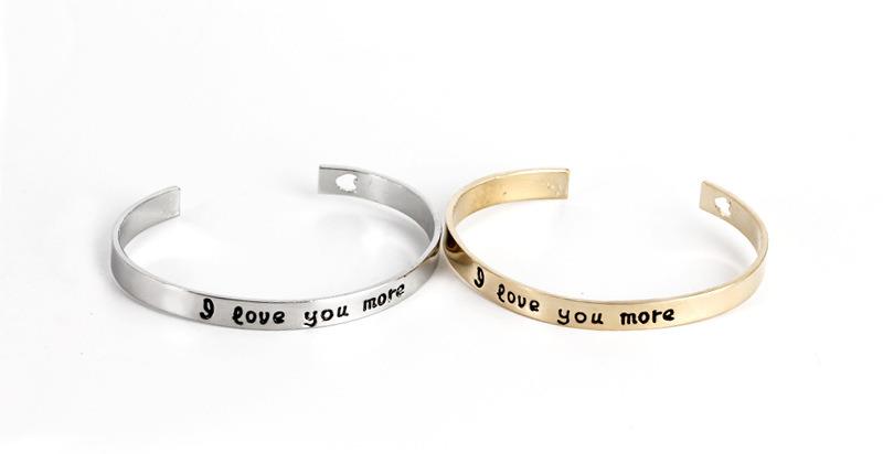 Silver Slim Cuff Bangle - Open Hammered Textured Bracelet