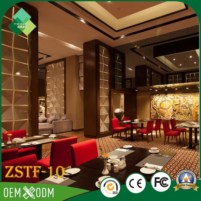 High Quality Solid Wood Bedroom Furniture Set for Sale (ZSTF-10)