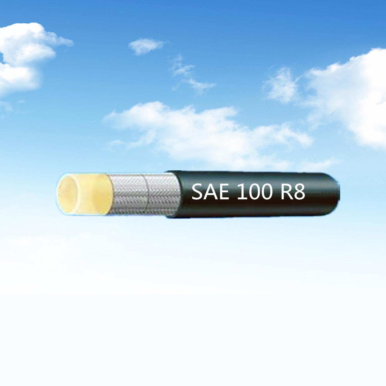 """SAE 100 R8 1/2 """"Aramid Fibre Braided Resin Hose for Aviation Spaceflight"""