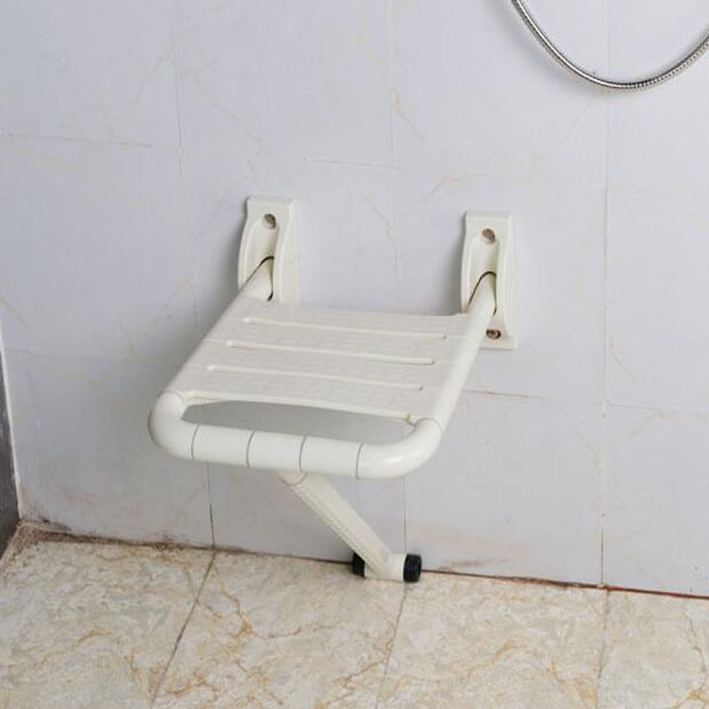 Folding Nylon Anti Skid Sauna Chair Bathroom Disabled Shower Stool
