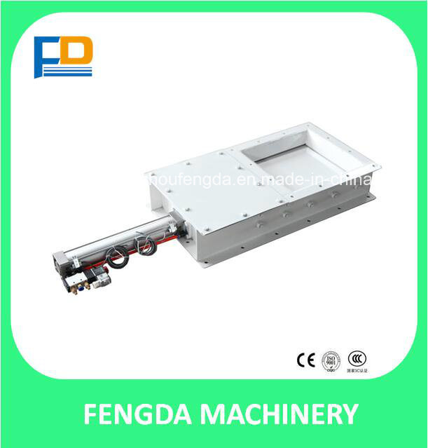 Pneumatic Slide Gate for Feed Conveying Machine (TZMQ25*25)
