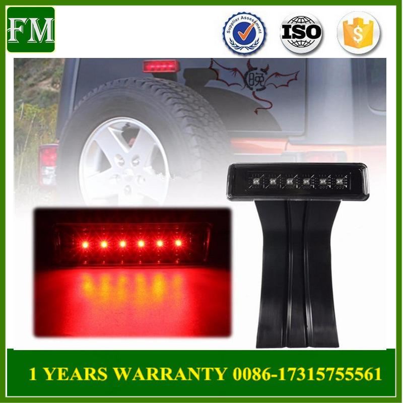 Exterior Accessories LED Third Brake Light for Jeep Wrangler