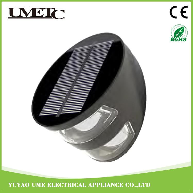 Factory Direct Outdoor Solar Powered LED Garden Wall Light