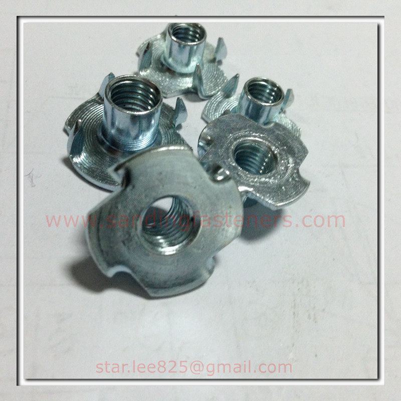 Carbon Steel Zinc Plated T Nut Wholsales