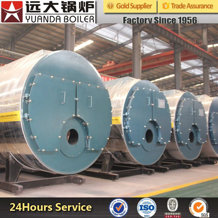 700kw 1400kw 2800kw 4200kw Oil or Gas Fired Hot Water Boiler for Heating