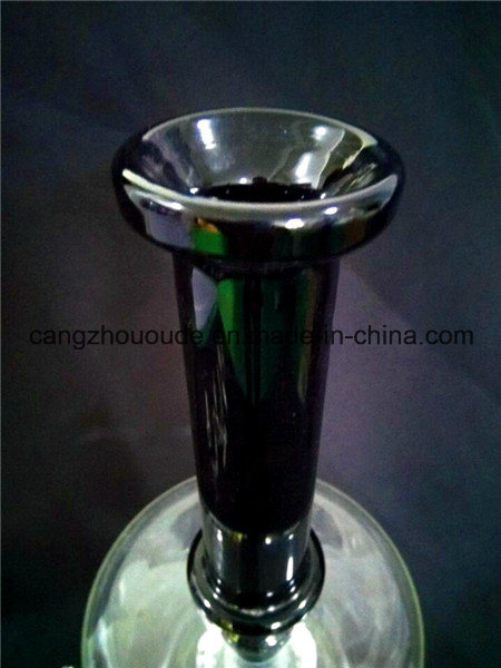 A58 Glass Smoking Pipe Glass Pipe Glass Water Pipe Hookah Colored Honeycomb Pipe with Bowl