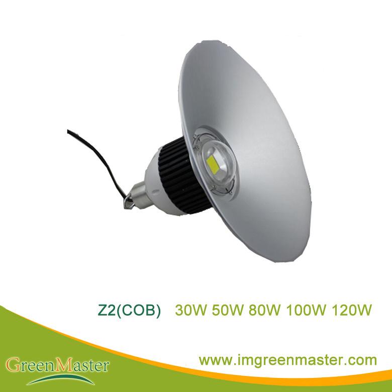 Z2 30W 50W 80W 100W 120W Factory Warehouse LED High Bay Light