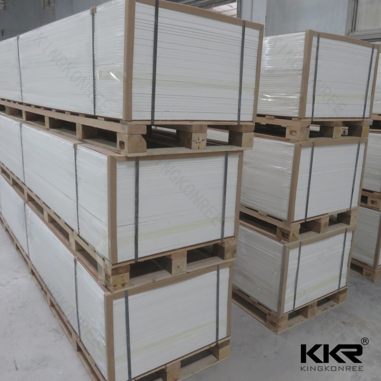 12mm Pure White Acrylic Solid Surface (V70120)