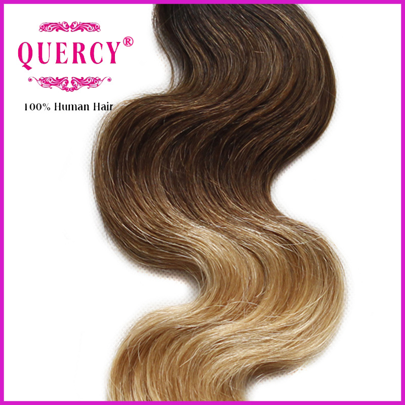 Ombre Color Human Virgin Remy Hair