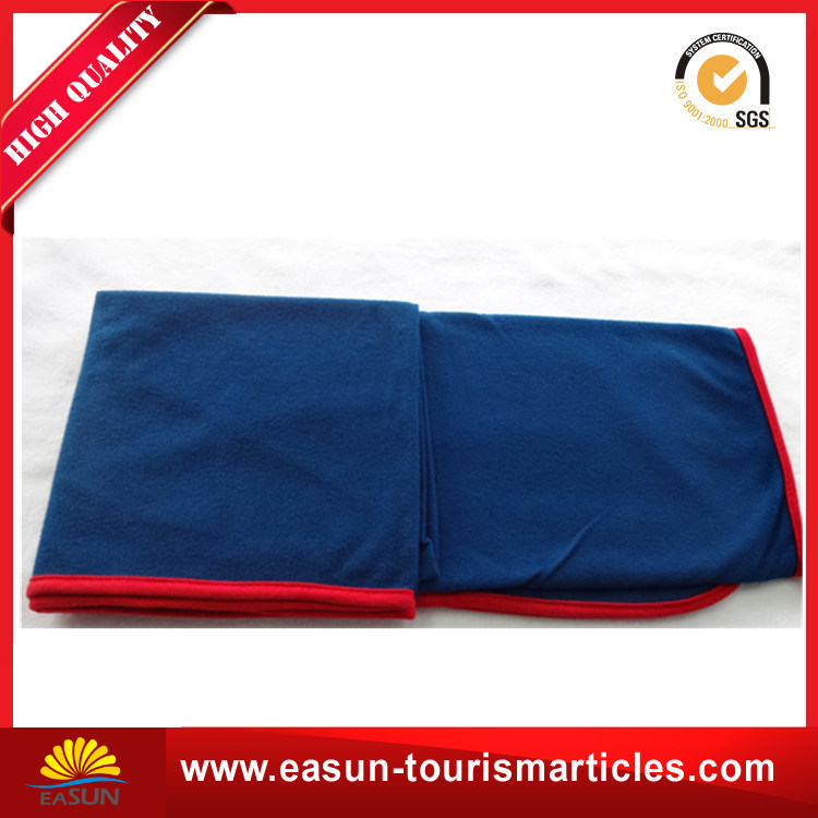 Double Face Fleece Airline Blanket Fire Retardant