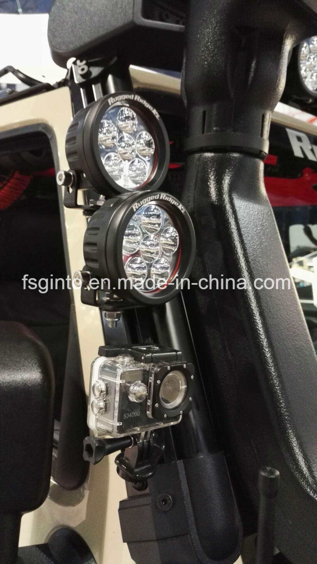 Round E-MARK 18W Osram LED Work Light (GT2009-18W)