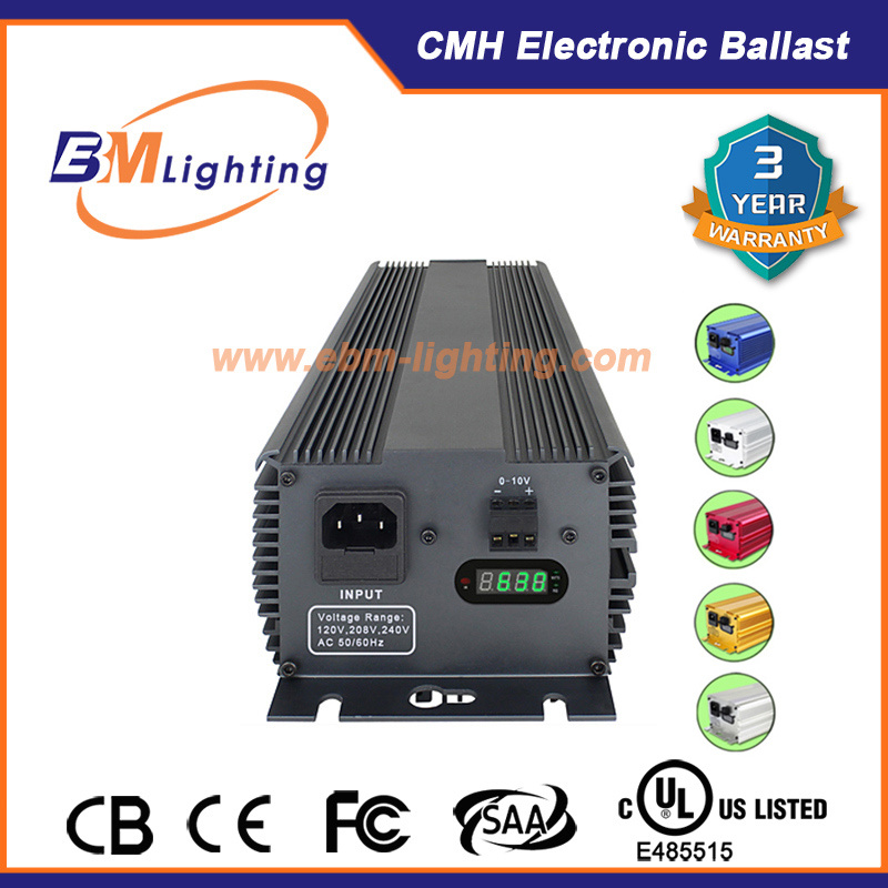 2X315W HID Grow Lighting Digital Ballast Used in Green House