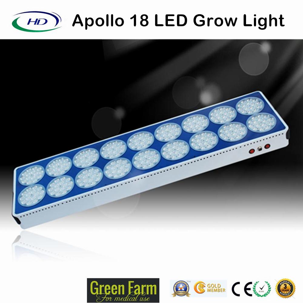 Apollo 18 Epistar LED Grow Light for Vigorous Growth