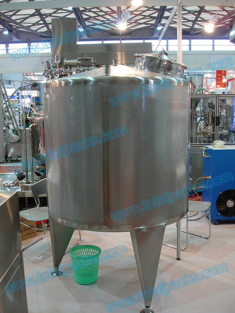 Stainless Steel Mixing Storage Tank for Food and Cosmetics (ACC-140)