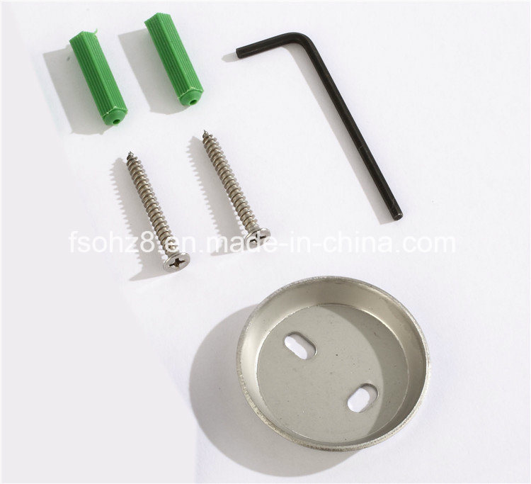 Bathroom Accessories Stainless Steel 304 Single Soap Dish Holder (Ymt-2602)