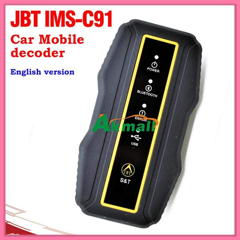 Jbt Ims-C91 Car Mobile Decoder Key Programmer for English