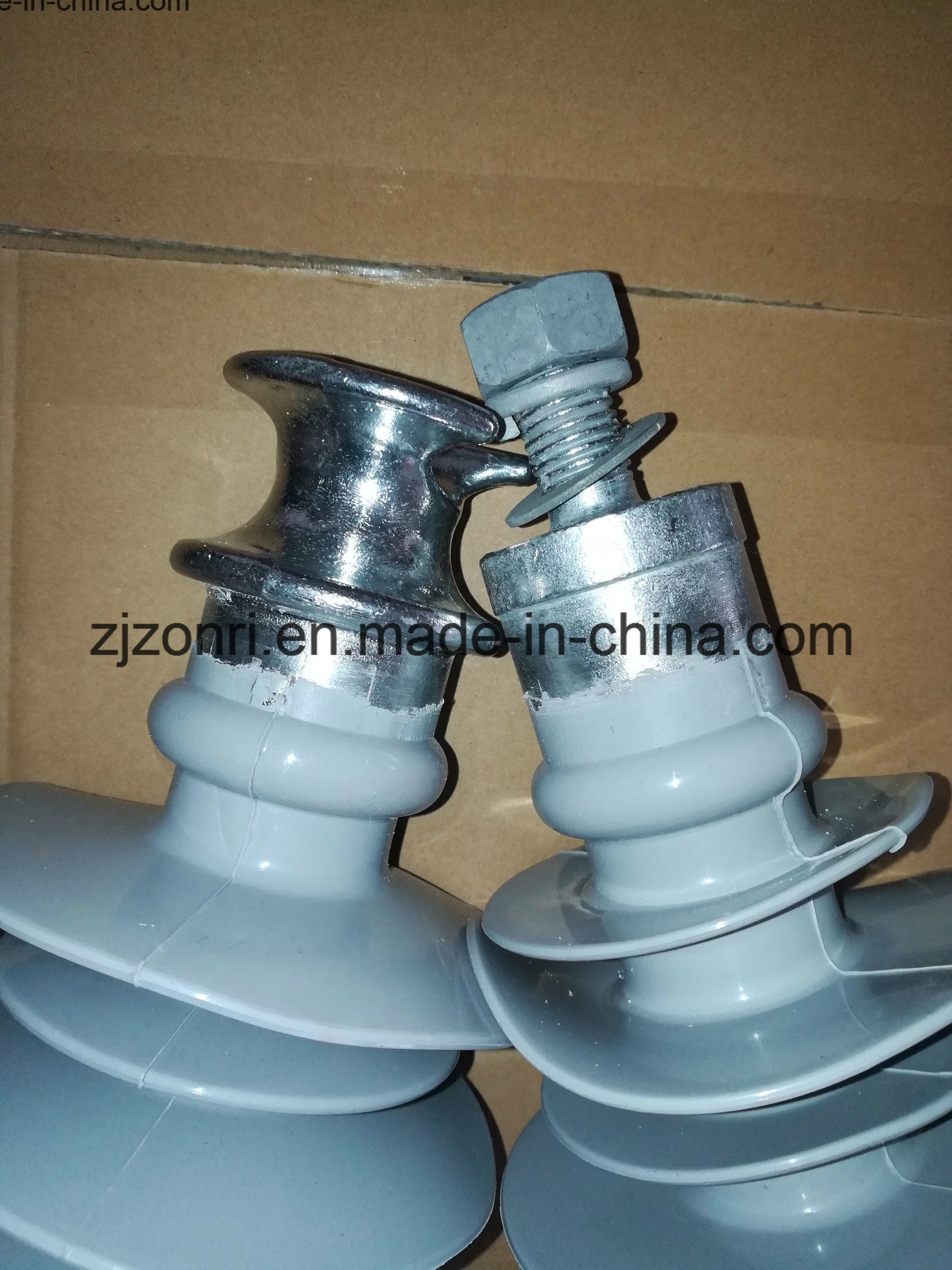 High Voltage Pin Type Composite Insulator Fpq-24/8 11