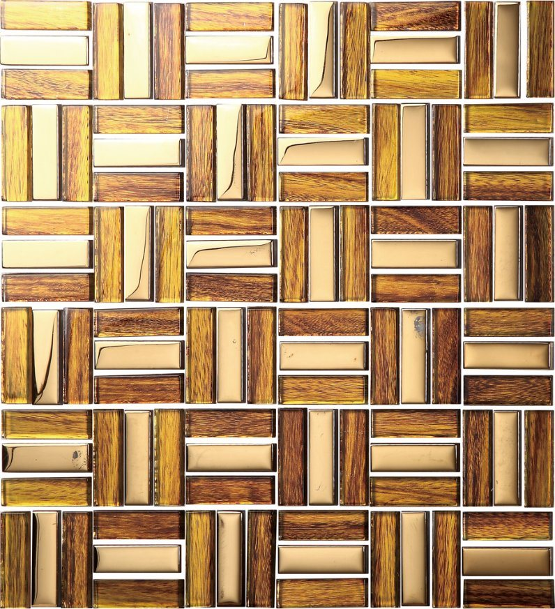 Foshan New Arrival Interior Glass Mosaic Tile for Home Decoration (XZP1706)