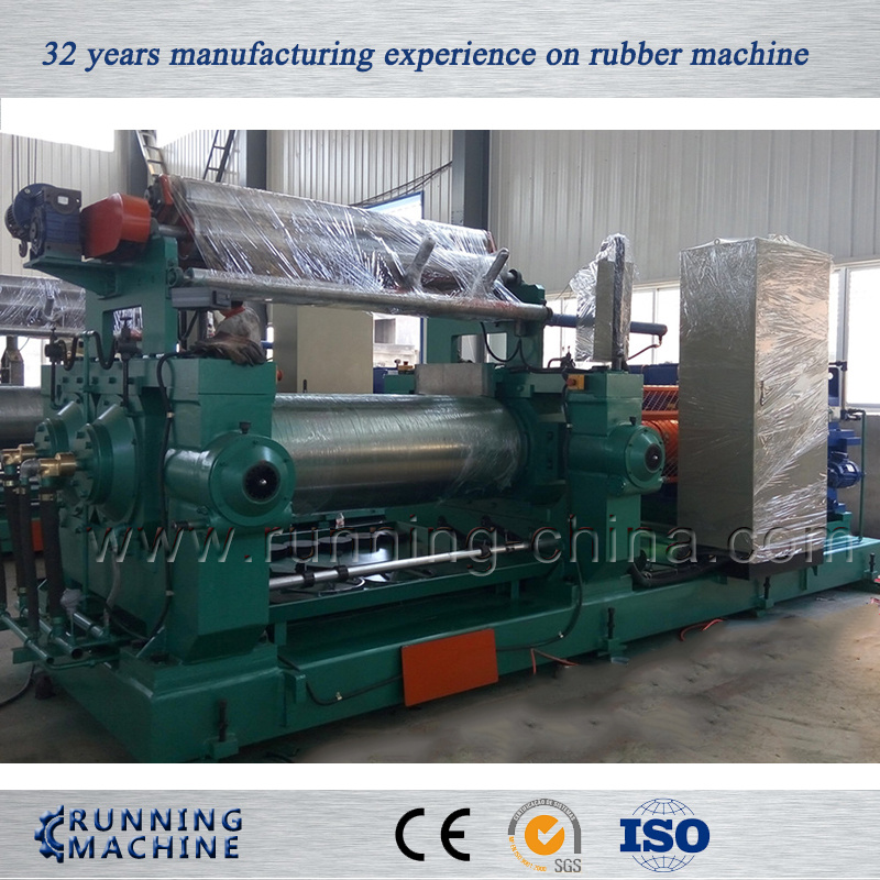 22 Inch Rubber Open Mill, Two Roll Mill with Water Cooling