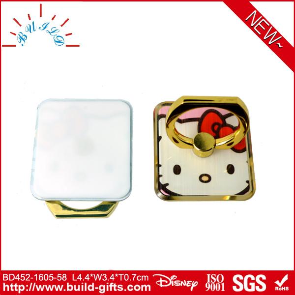 New Design Custom Metal Ring Holder for Mobile Phone