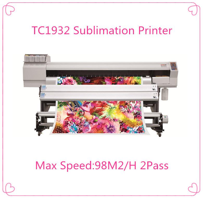 Digital Sublimation Machine with 2 PCS Epson Dx5