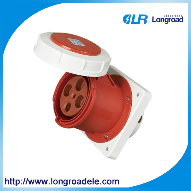 High Quality Industrial Socket/Plug IP67 4p 125A
