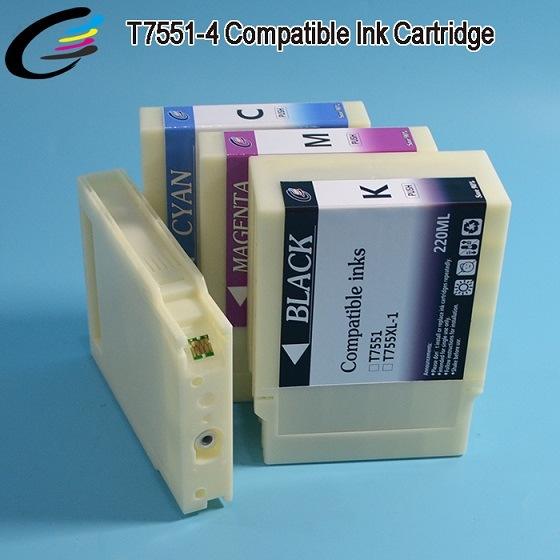 Fullcolor T7551 - T7554 Compatible Inkjet Cartridges for Epson Workforce PRO Wf-8010dw 8090dw 8510dwf 8590 Dtwfc