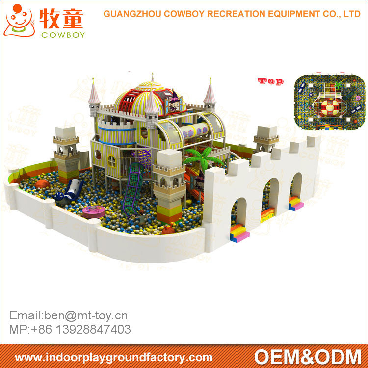 New Style Funny Kids Amusement Park, Indoor Playground for Sale