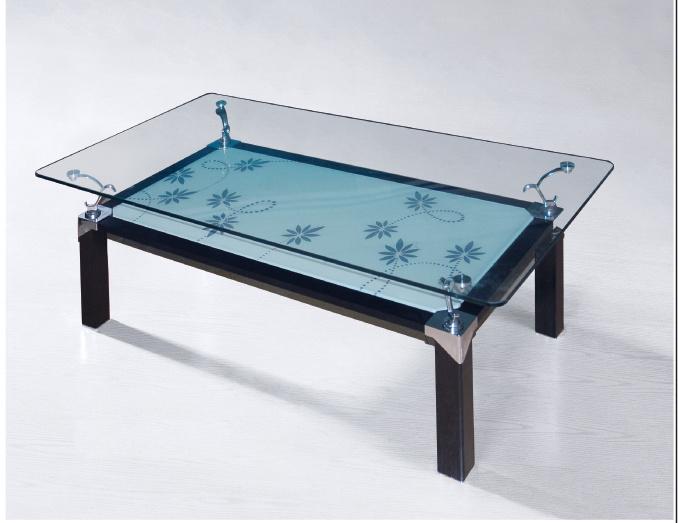 Metal Glass Furniture Coffee Table SX 22 China Glass Furniture