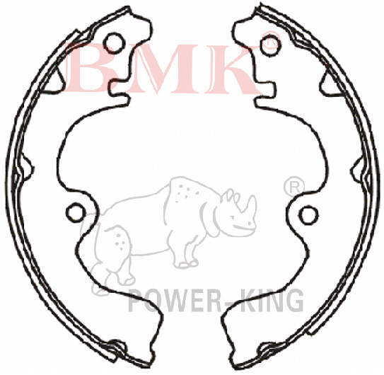 China Good Price Brake Shoe For Toyota Photos Amp Pictures Made In China Com