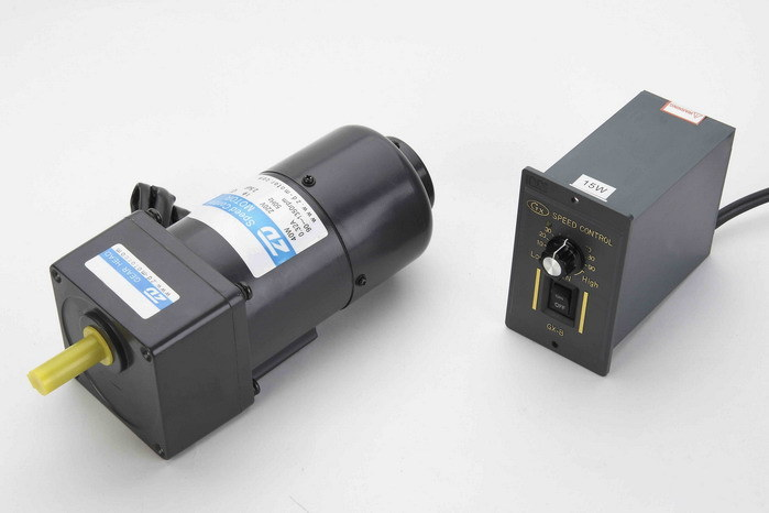 China 40w 60w ac brake speed control electric gear motor Speed control for ac motor