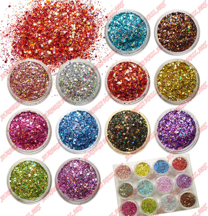 ... color) Professional Nail Art Supplies - China Nail Art, Glitter Powder