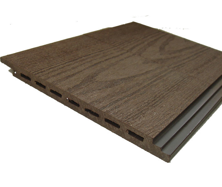 China wpc siding dq 15010 china wood plastic composite for Synthetic wood siding