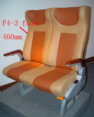Luxury Safety Passenger Coach Intercity Bus Auto Seat F4-3