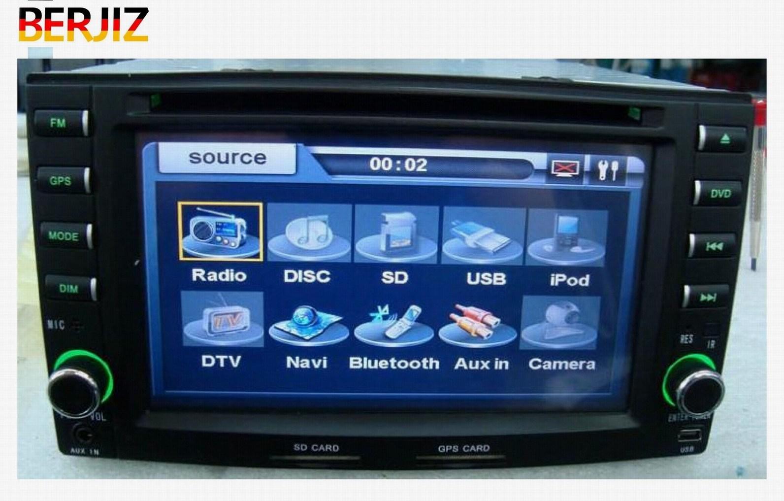 7inch Car DVD GPS Navigation Sepcial for KIA-Sportage (BJ-SD8721-Y)
