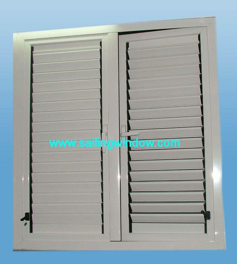 Aluminium Louver Windows - 45 Series Shutter Window