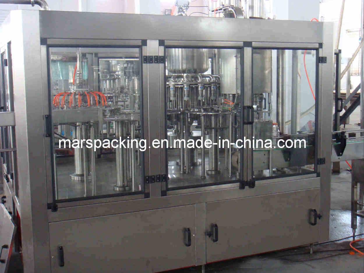 Plastic Bottle Juice Hot Filling Machine (RCGF18-18-6)