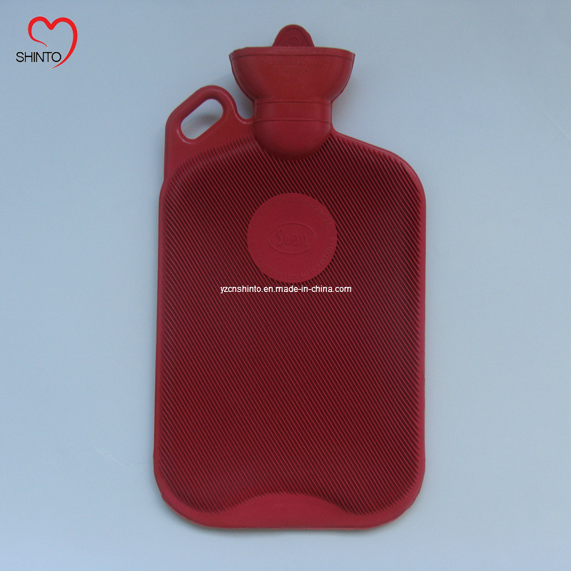 Hot-Selling 2000ml Rubber Hot Water Bottle