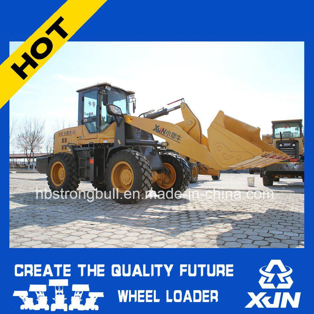 2ton 1m3 Bucket Capacity Wheel Loader Mini Loader Small Dumper Zl33