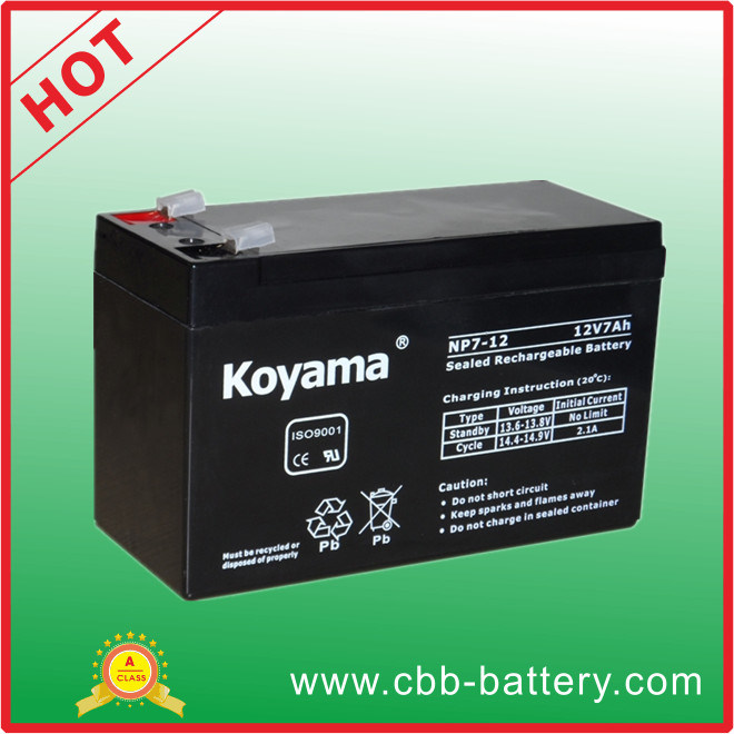 Alarm System Lead Acid Battery 12V7ah-UPS Battery Np7-12
