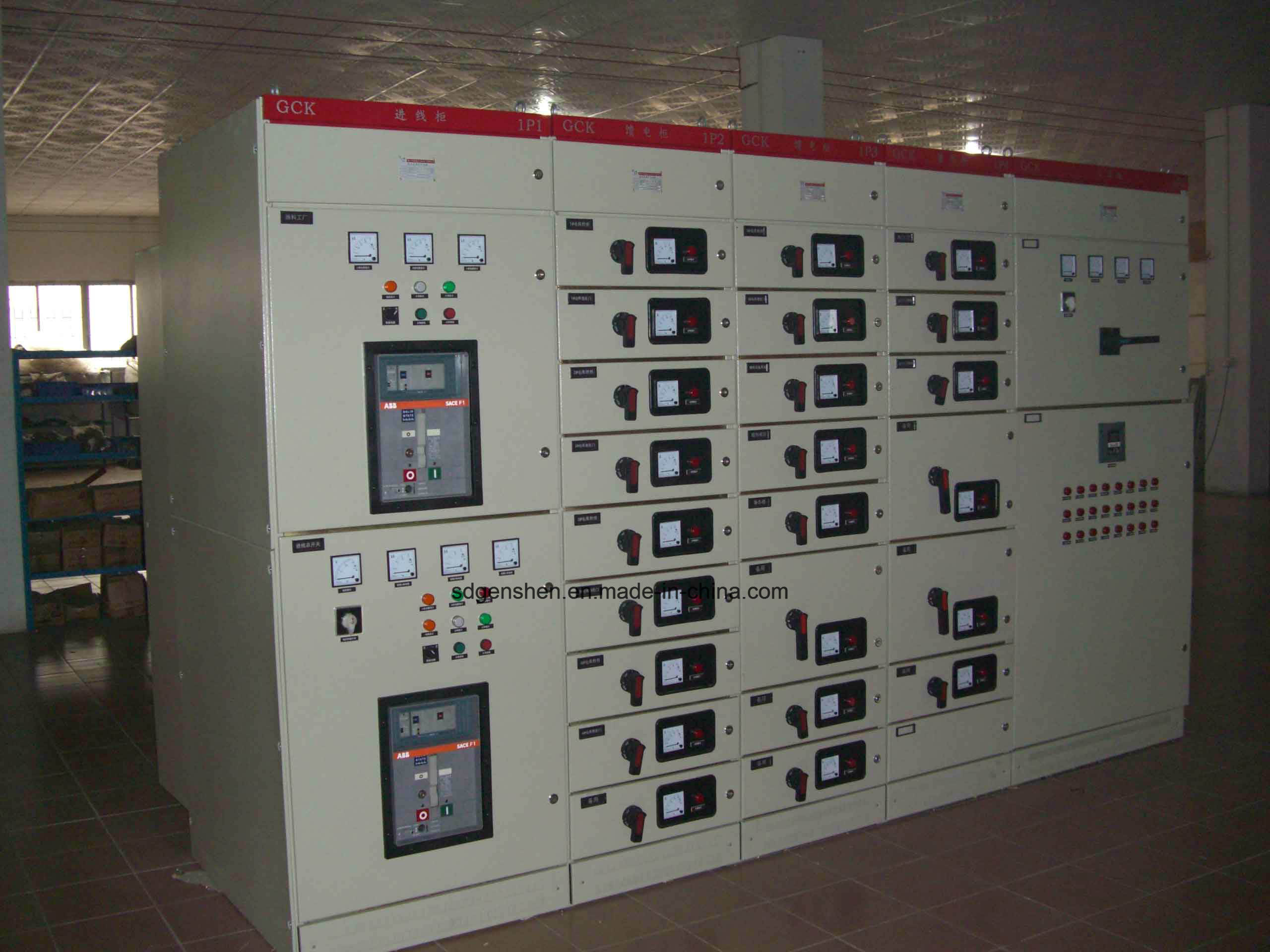 Gcs Indoor Low Voltage Capacitor Power Conversion Motor Control Draw out Switch Cabinet/Extraction Switchgear