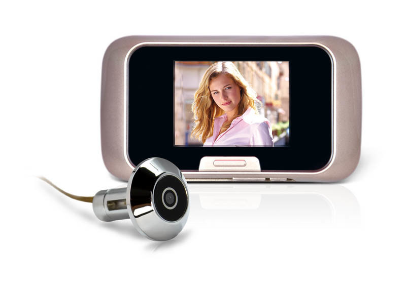 China digital peephole viewer door camera with photos and for Door viewer camera