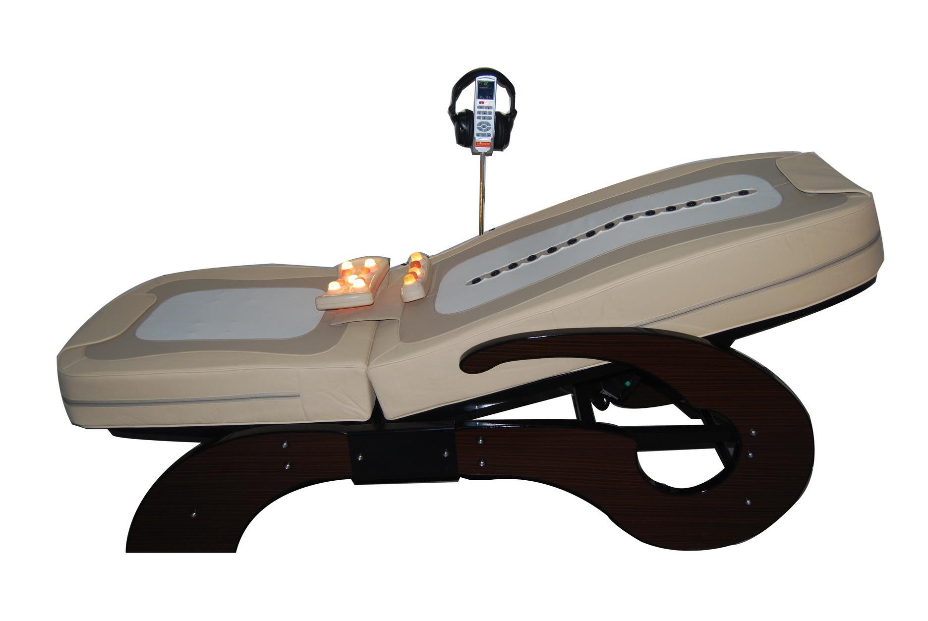 china thermal jade massage bed with mp3 005 fm china