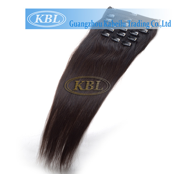 Brazilian Clip-in Hair, Human Hair Extension