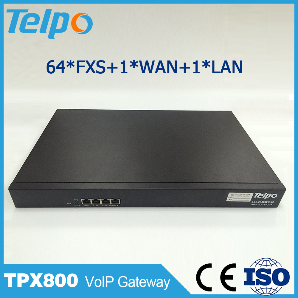 China Online Selling 64 FXS/FXO Port Asterisk RoIP VoIP Gateway