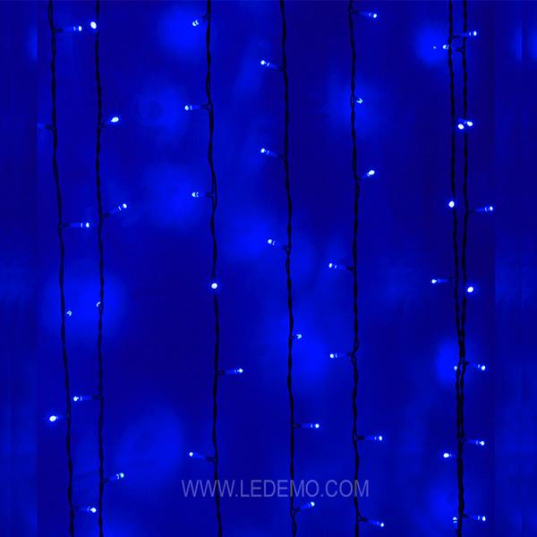 LED Warm White Decorative String Curtain Light