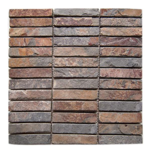 China Strip Stone Tile (SJ-131) - China Mosaic Tiles, Slate Mosaic