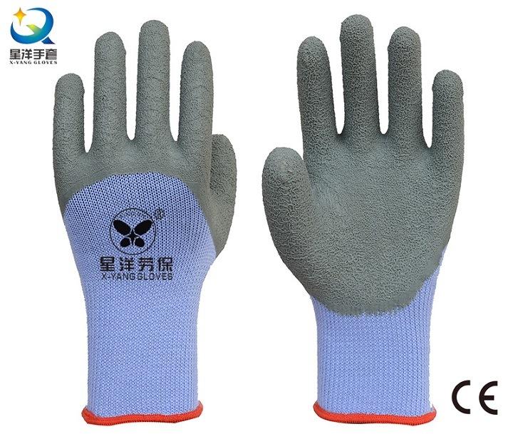 L18 21 Gauge Yarn Latex 3/4 Coated Work Gloves
