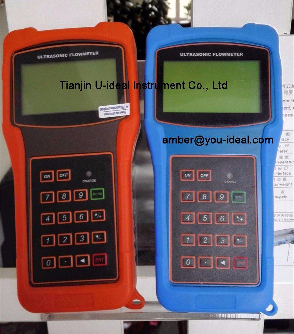 Handheld and Portable Flow Sensor Flowmeter, Wall Mounted Ultrasonic Flow Meter