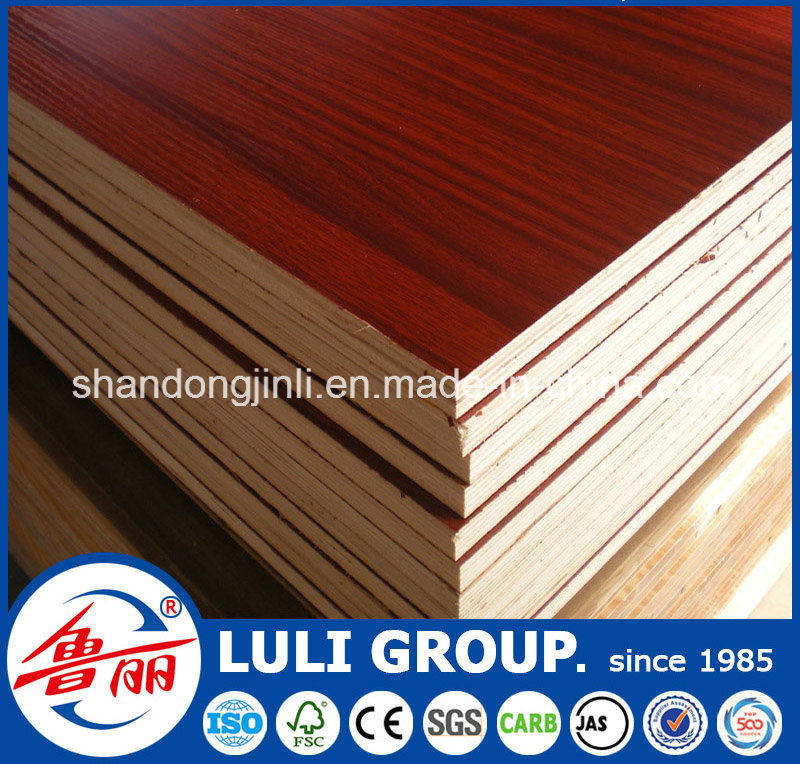 Plain Color and Wood Color Melamine Plywood